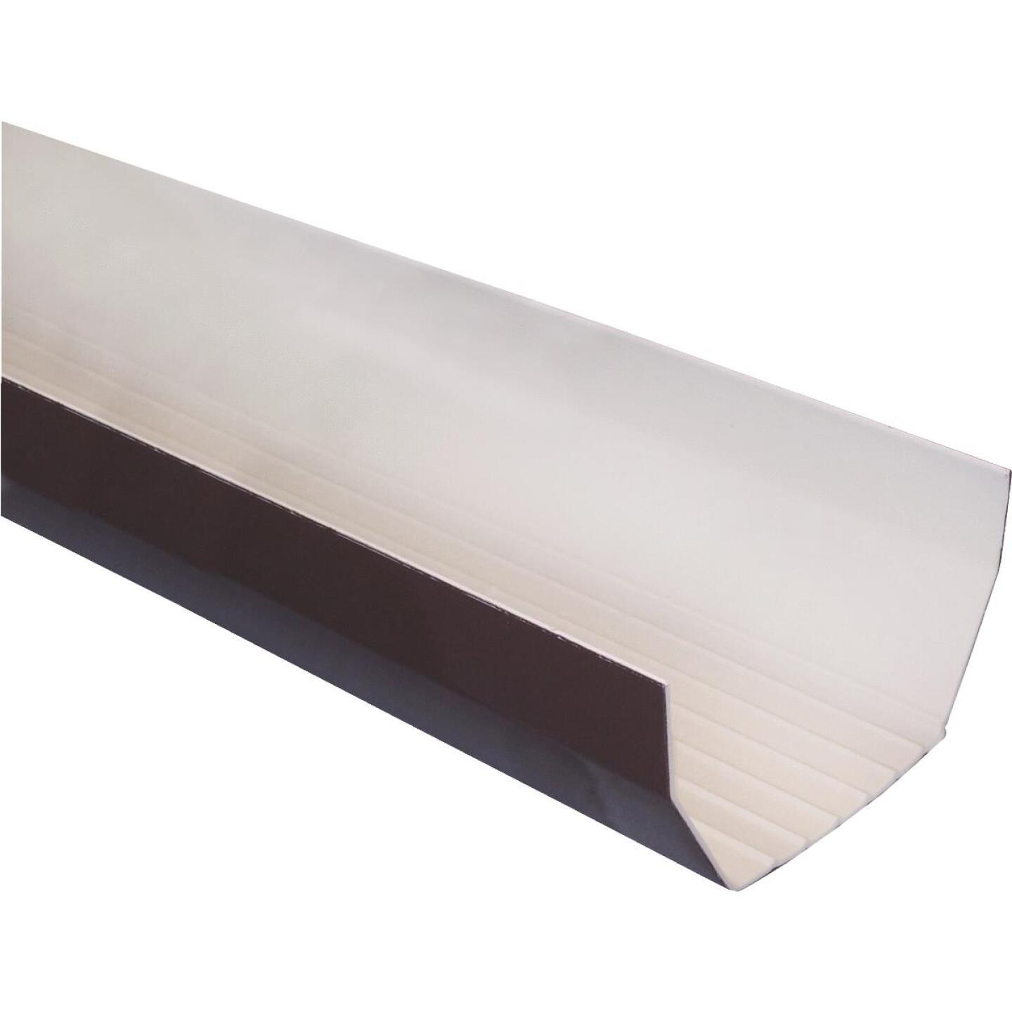 RainGo 5 In. x 10 Ft. Brown Vinyl Gutter Image 1
