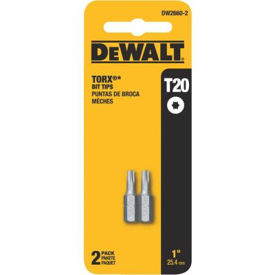 DeWalt T20 TORX 1 In. Insert Screwdriver Bit