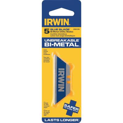 Irwin Blue Blade 2-Point 2-3/8 In. Utility Knife Blade (5-Pack)