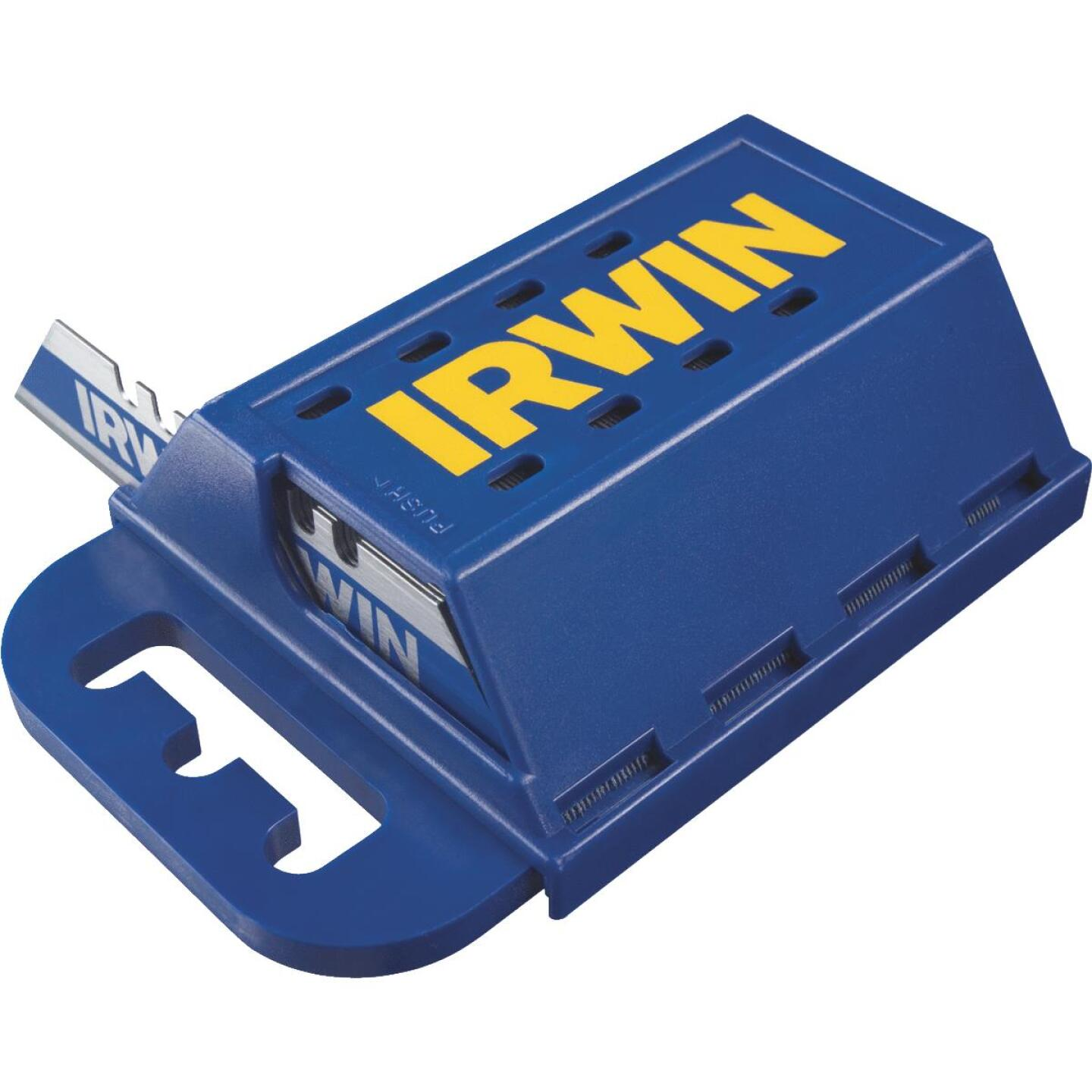 Irwin Blue Blade 2-Point 2-3/8 In. Utility Knife Blade (100-Pack) Image 1