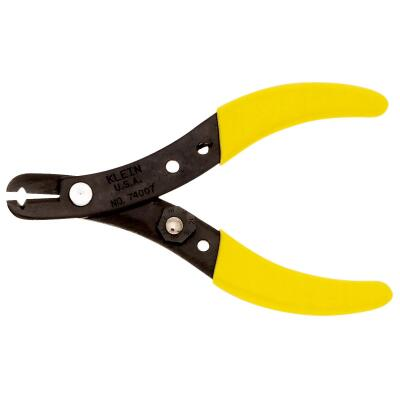 Klein 5-1/8 In. 12 AWG to 24 AWG Black Oxide Finish Wire Stripper