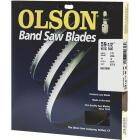 Olson 59-1/2 In. x 1/8 In. 14 TPI Hook Wood Cutting Band Saw Blade Image 1