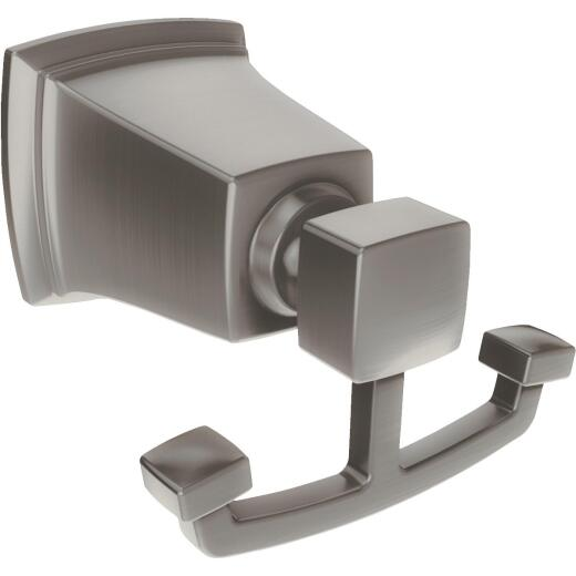 Moen Brushed Nickel Double Robe Hook