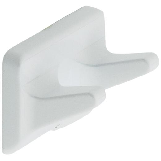 Home Impressions White Double Robe Hook