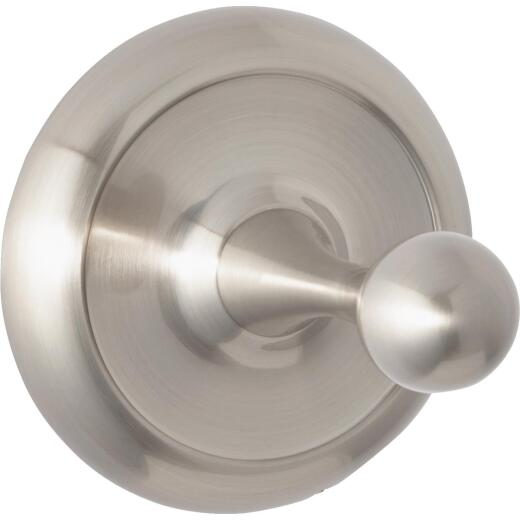 Home Impressions Brushed Nickel Single Robe Hook