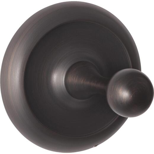 Home Impressions Oil Rubbed Bronze Single Robe Hook