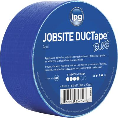 Intertape DUCTape 1.88 In. x 20 Yd. General Purpose Duct Tape, Blue
