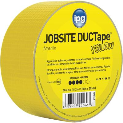 Intertape DUCTape 1.88 In. x 20 Yd. General Purpose Duct Tape, Yellow