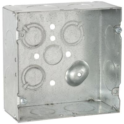 Raco 2-Gang Steel Welded Wall Box