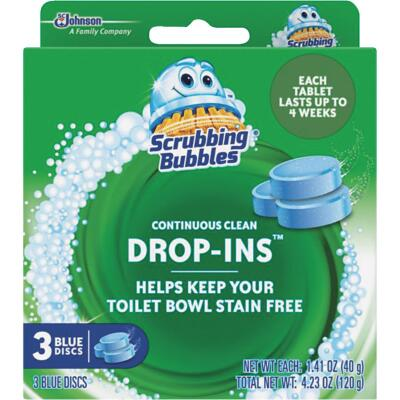 Scrubbing Bubbles Vanish Continuous Clean Drop-Ins Automatic Toilet Bowl Cleaner (3-Pack)