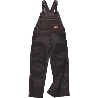 Milwaukee Gridiron Large Black Polyester Bib Overalls
