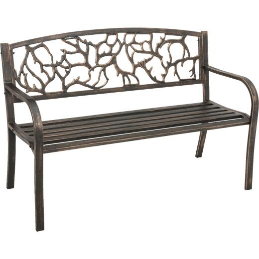 Outdoor Expressions Steel Branch Bench