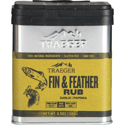 Traeger 5.5 Oz. Garlic & Paprika Flavor Fin & Feather Rub